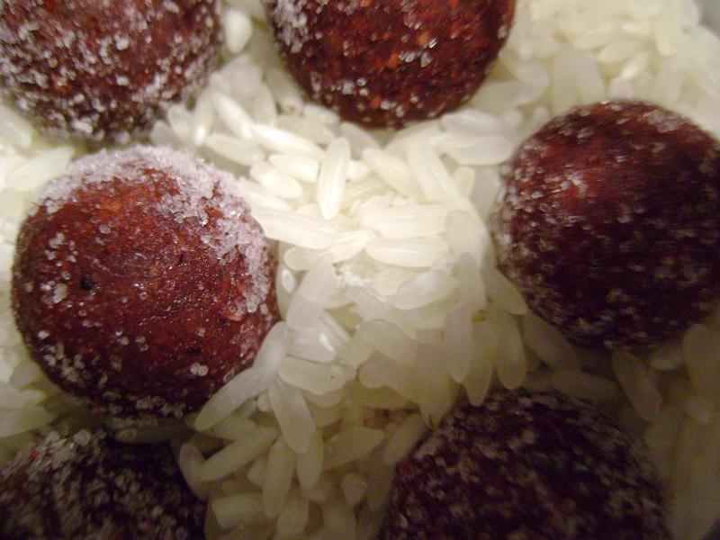 kulki w ryżu