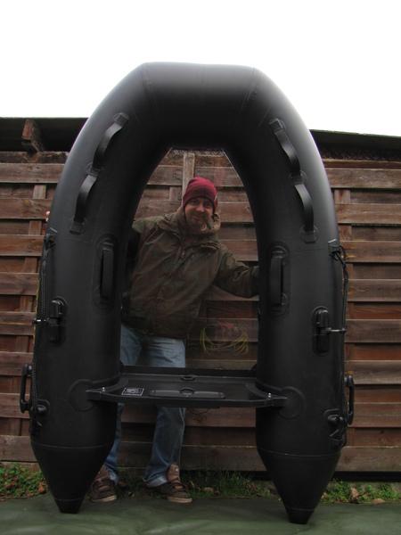 ponton z przezroczystą podłogą