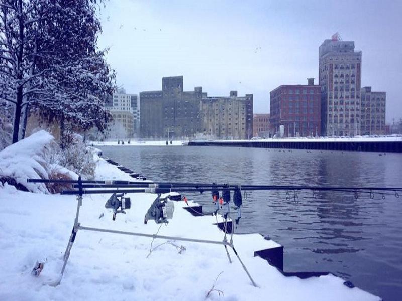 wędkarstwo karpiowe zimą