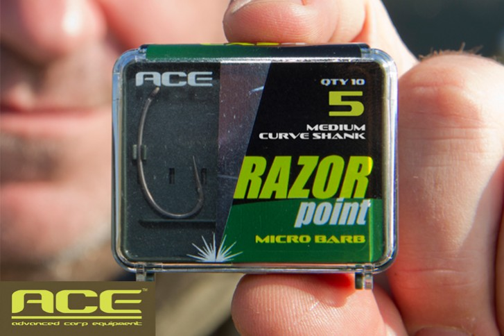 ACE Razor Point Medium Curve Shank