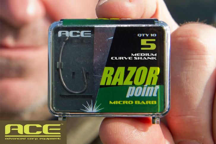 ACE Razor Point Medium Curve Shank