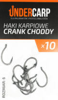 Haczyki karpiowe crank choddy