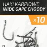 Haczyki karpiowe wide gape choddy