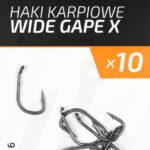 haczyki karpiowe wide gape x
