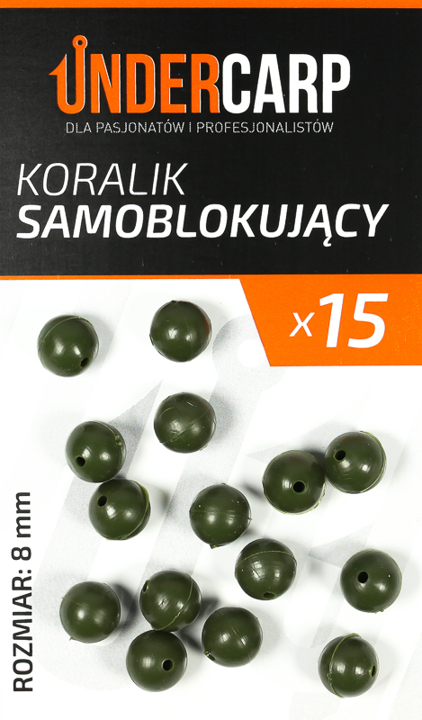 koralik samoblokujacy 8 mm