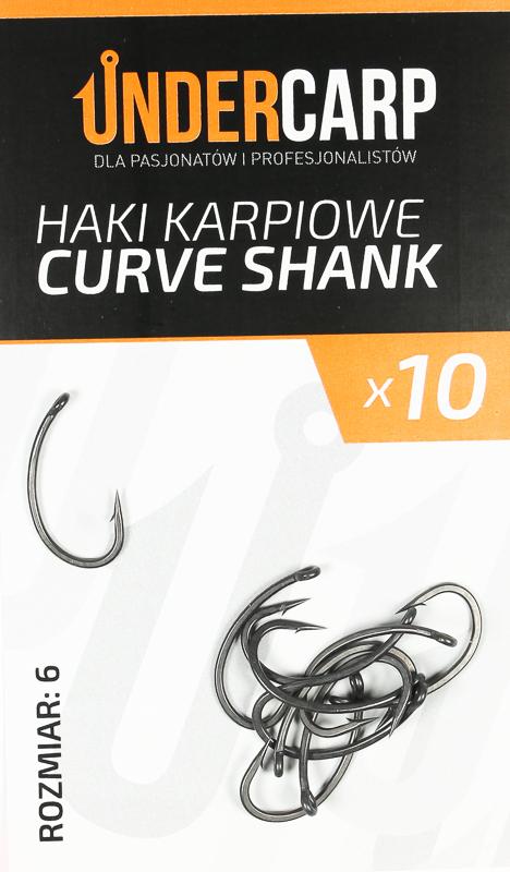 Haczyki karpiowe curve shank