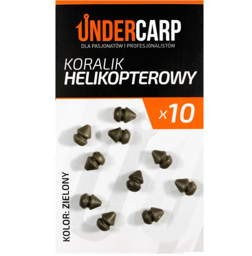 koralik helikopteorowy zielony